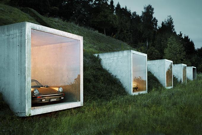 Peter Kunz: Garagen in Herdern