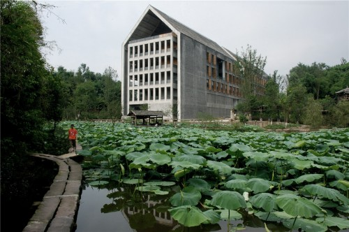 001 - Sichuan Fine Arts Institute Library of Huxi