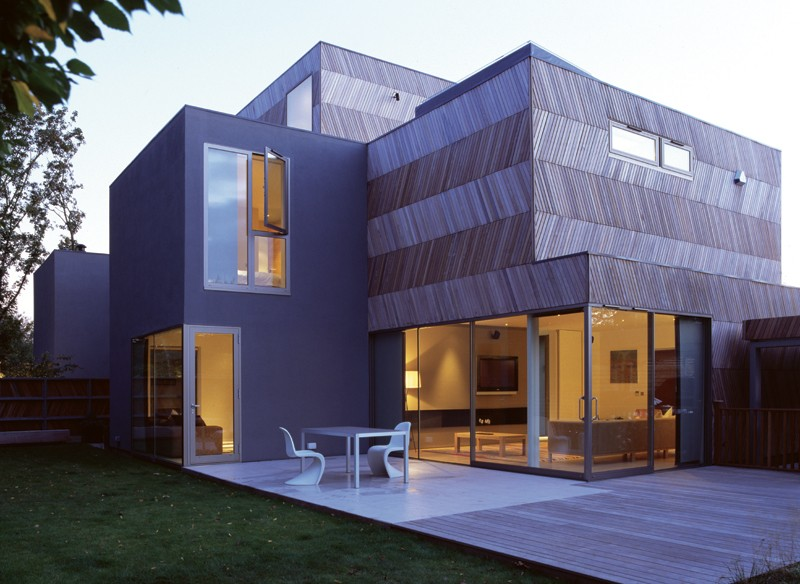 Alison brooks architects herringbone house sgustok design for Architectural design homes pictures