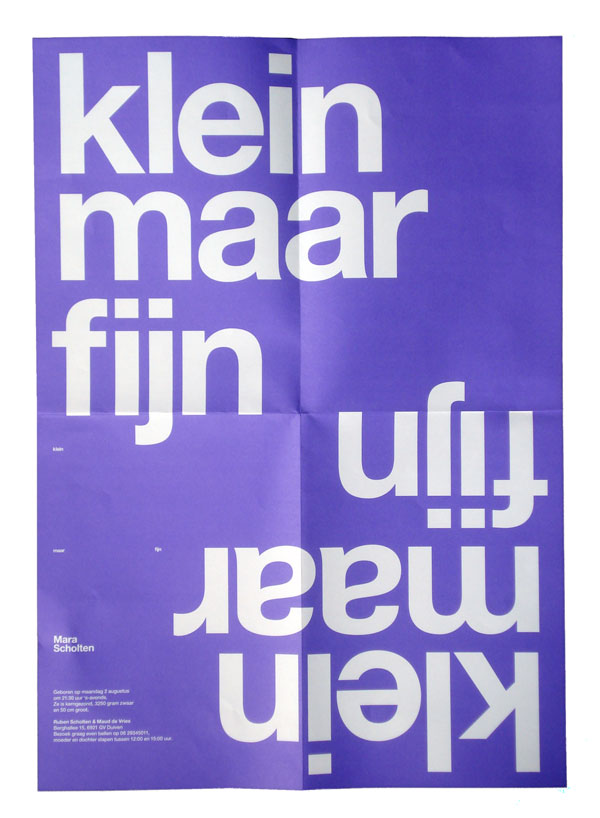 Almost Modern: Klein Maar Fijn