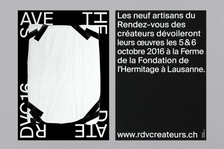 Balmer Hählen: Rendez-vous des créateurs 2016 — Poster