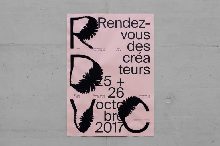 Balmer Hählen: Rendez-vous des créateurs 2017 — Poster
