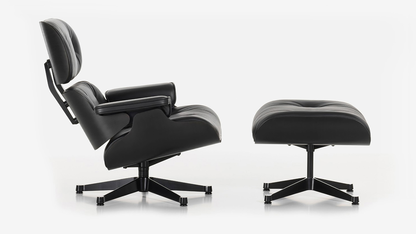 charles ray eames lounge chair ottoman sgustok design. Black Bedroom Furniture Sets. Home Design Ideas