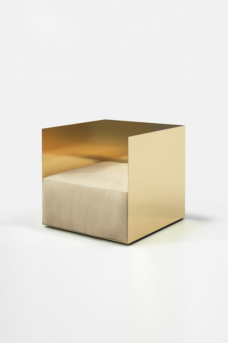 Crosby Studios: Cubic Armchair