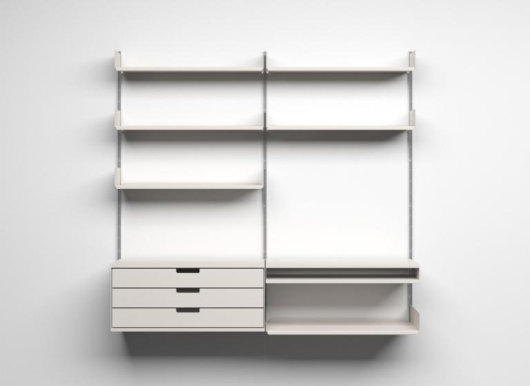 Dieter Rams: Vitsoe 606 Universal Shelving System