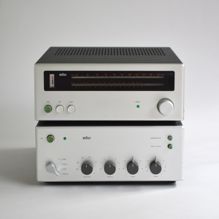 Dieter Rams: Braun CSV 250 / CET 250