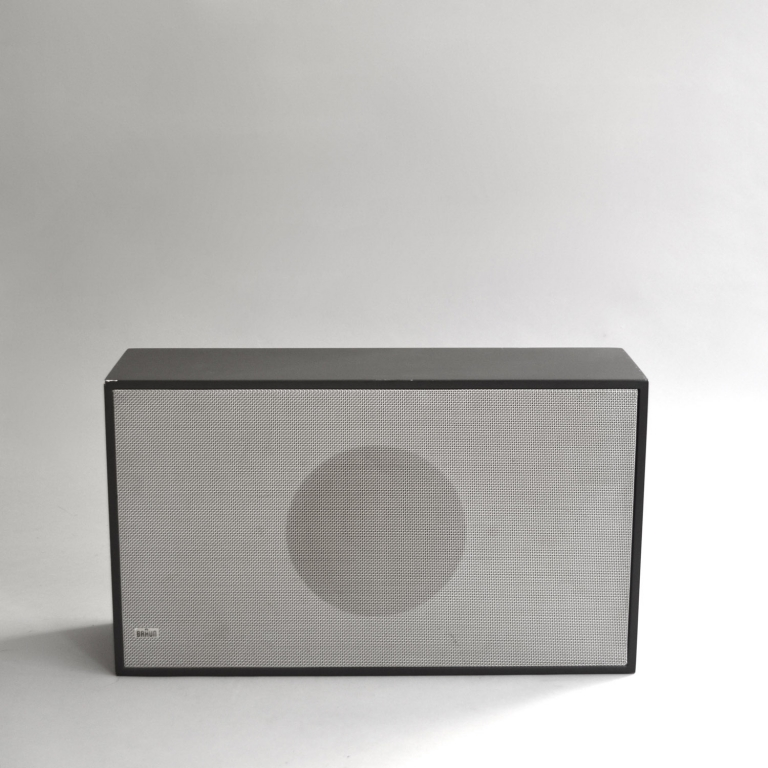 Dieter Rams: Braun L 25 Flat Speakers