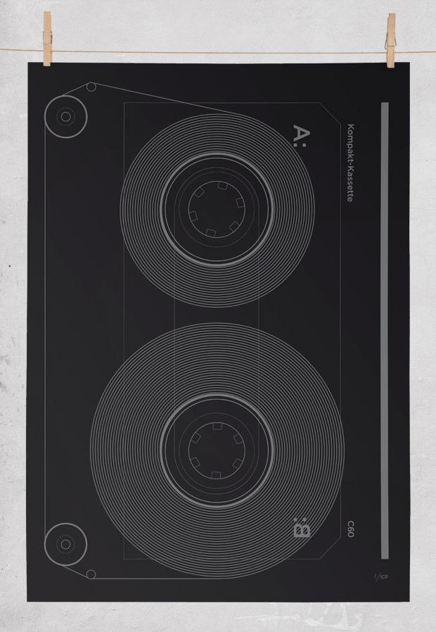 Editions Of 100: Kompakt-kassette
