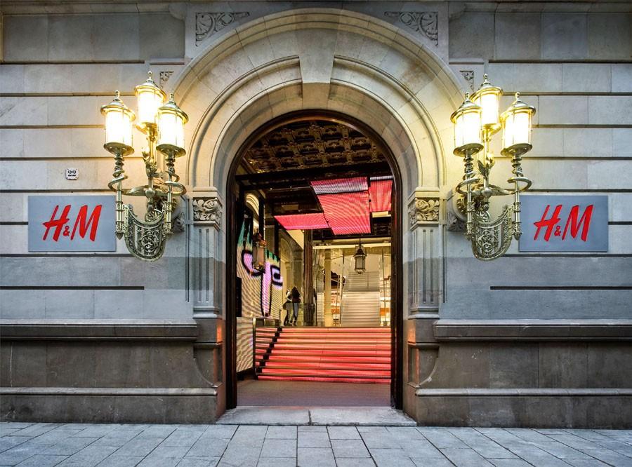 Estudio Mariscal: H&M Store in Barcelona