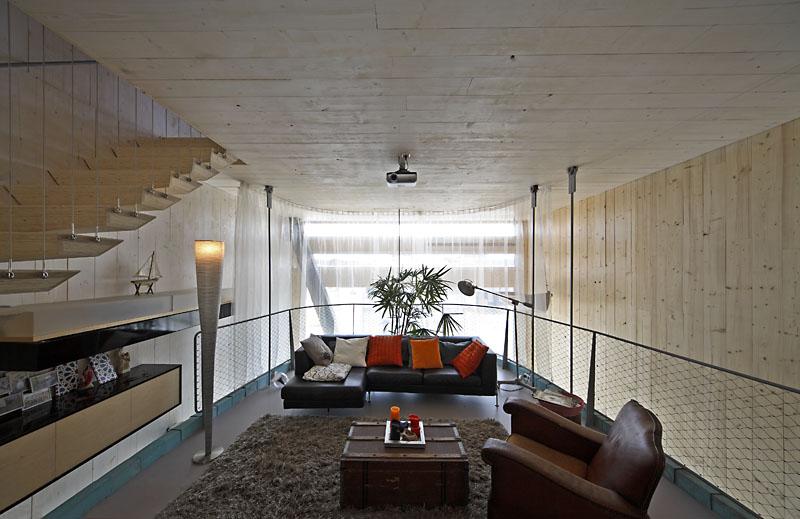 Faro architecten bv: experimental home in ijburg sgustok design