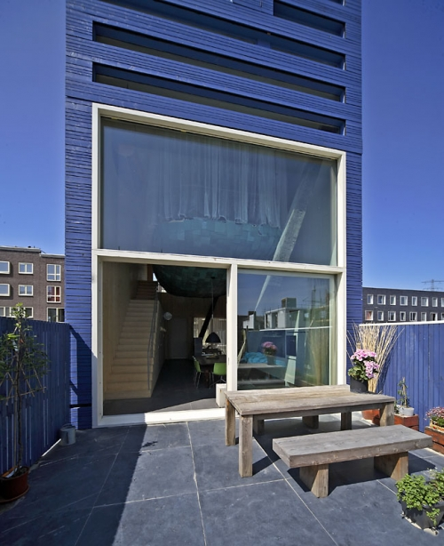 FARO Architecten BV: Experimental Home In Ijburg