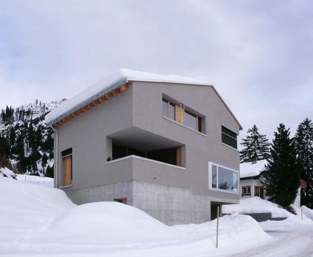 Flavio Loretz: House In Sedrun