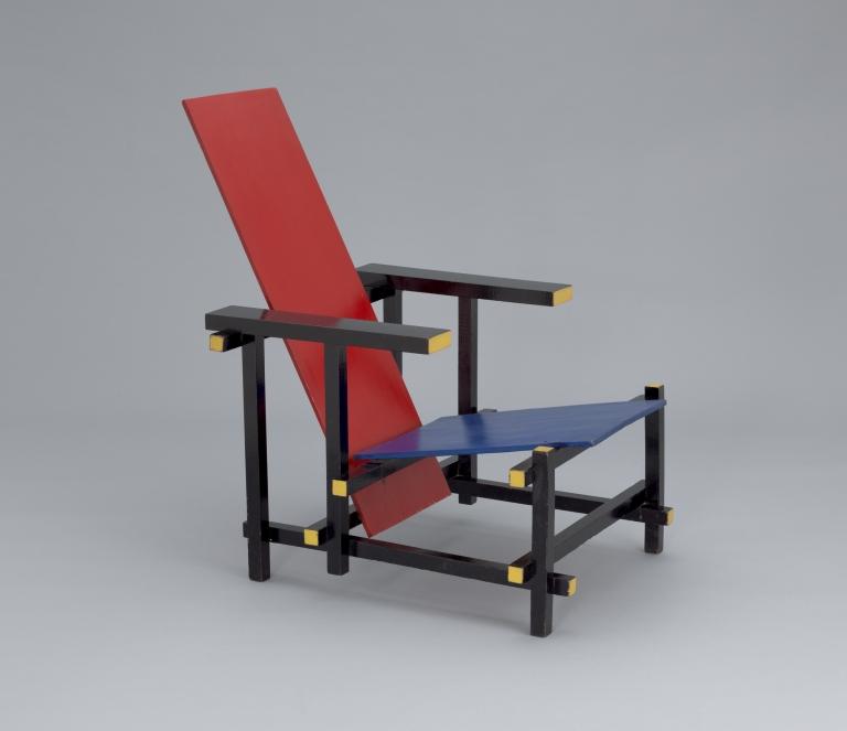 Gerrit Rietveld: Red Blue Chair