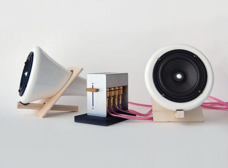Joey Roth: Ceramic Speakers