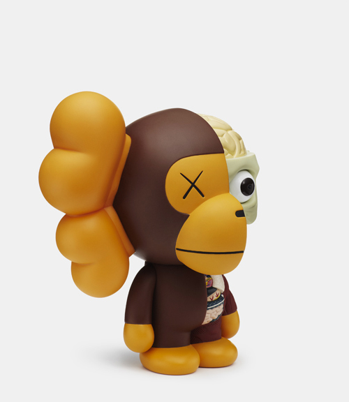 Kaws x Bathing Ape: Milo Toy