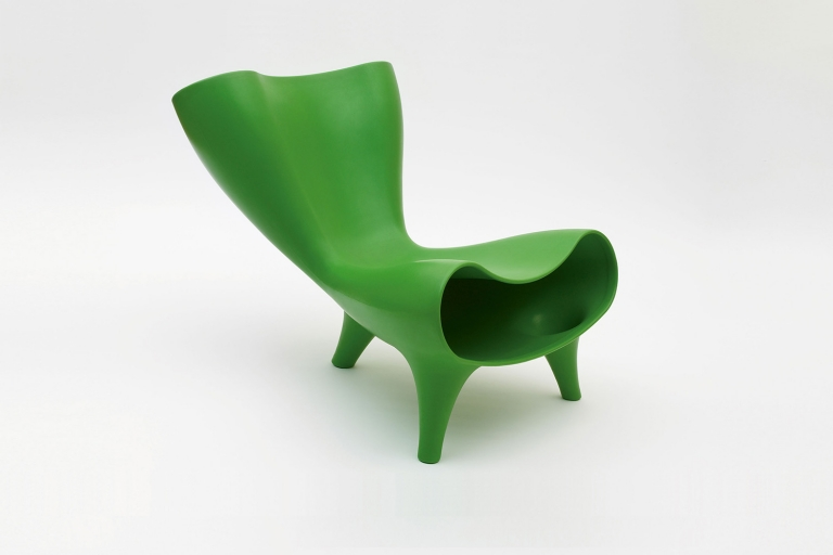 Marc Newson: Plastic Orgone Chair