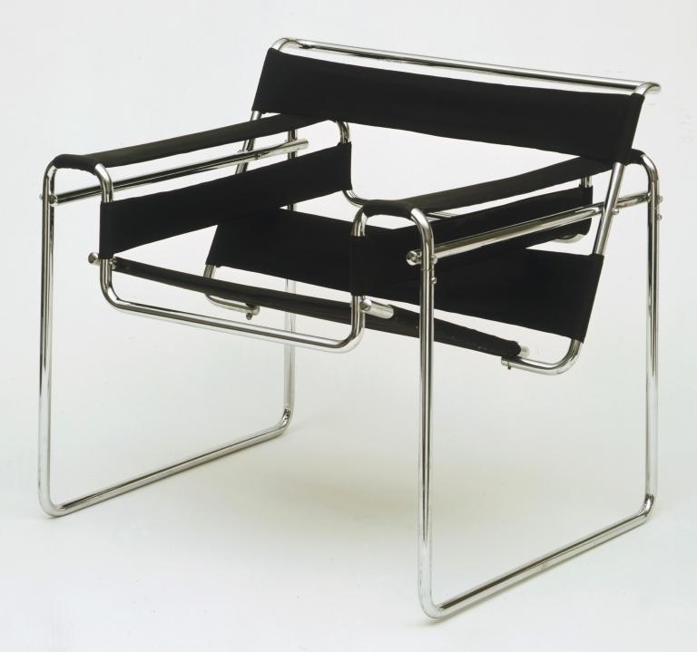 Marcel Breuer: Club Chair Model B3