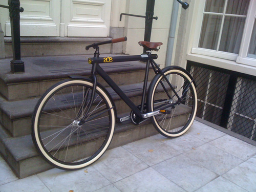 Moof Bicycle: Vanmoof