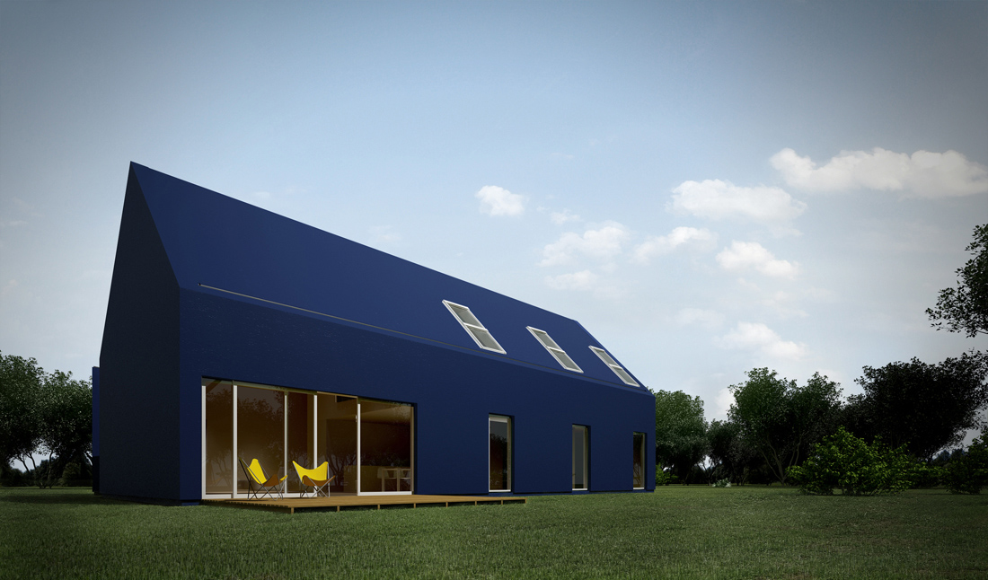 Pitched Roof Elevation