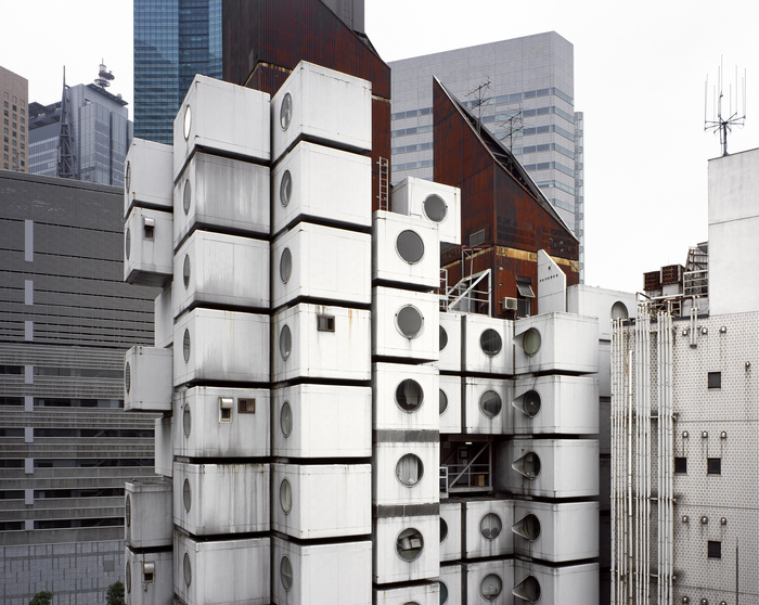 Kisho Kurokawa: Nakagin Capsule Tower