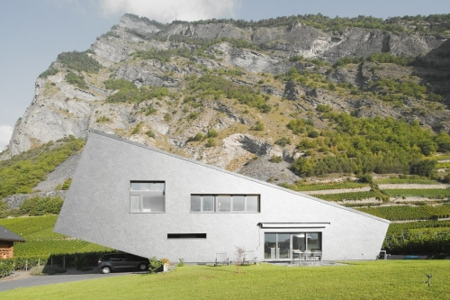 Nunatak Sarl Architectes: Zufferey House