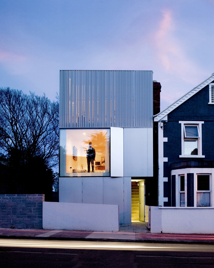 Odos architects grangegorman residence sgustok design for Casas minimalistas modernas