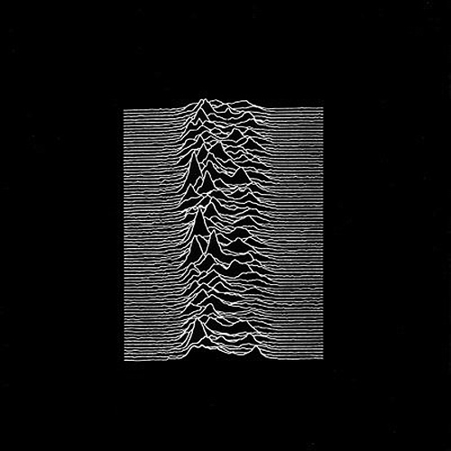 Peter Saville: Joy Division ‎– Unknown Pleasures