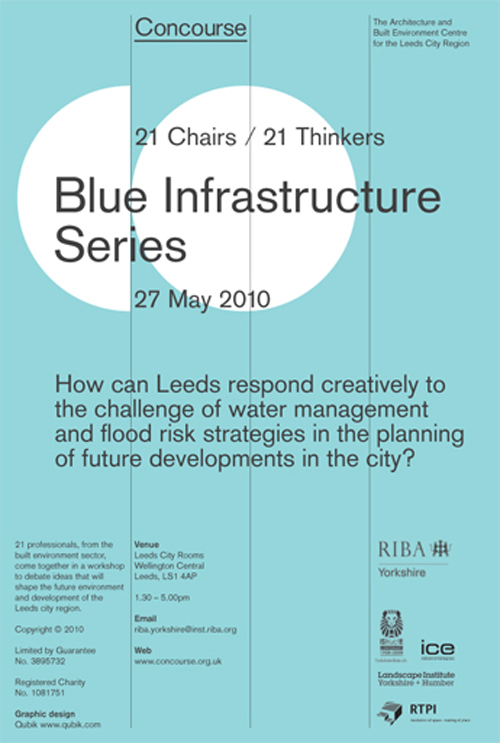 Qubik Design: Blue Infrastructure