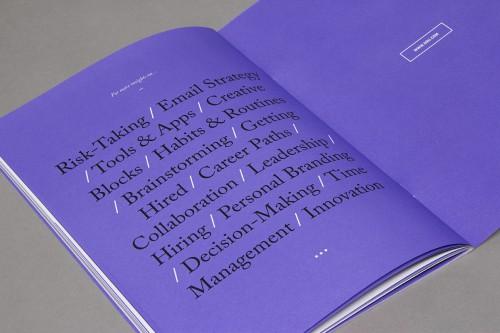 Raewyn Brandon, Matias Corea- 99U Quarterly Magazine Issue 1 - 025