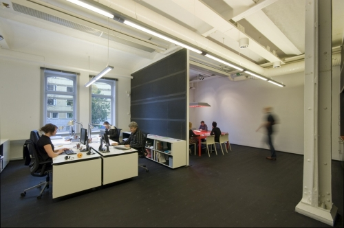 Rotstein Arkitekter: Office Interior In A Former Bicycle Factory
