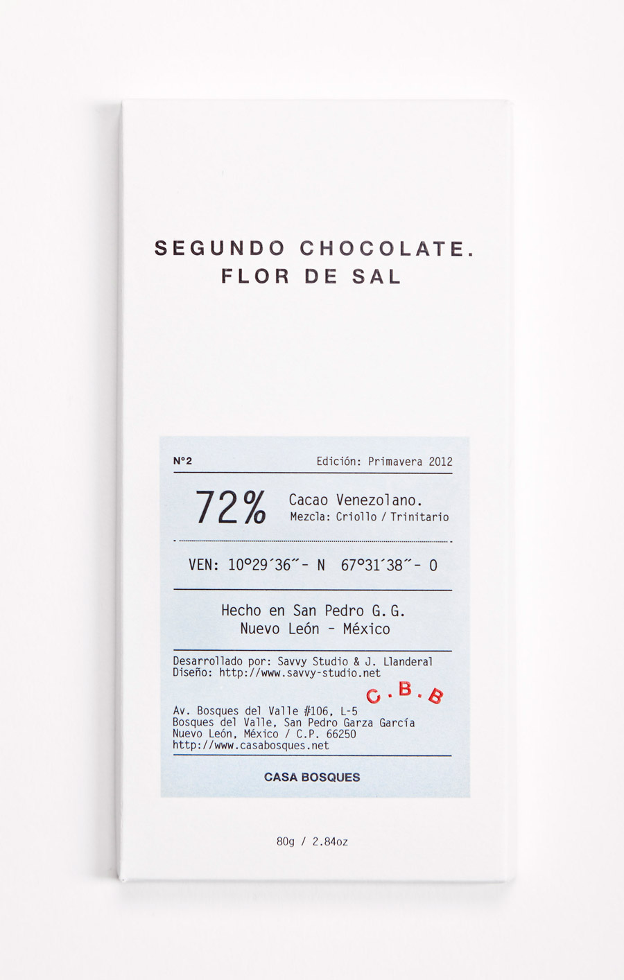 Savvy Studio: Casa Bosques Chocolates