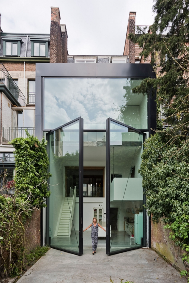 Sculp[IT]: Town House in Antwerp