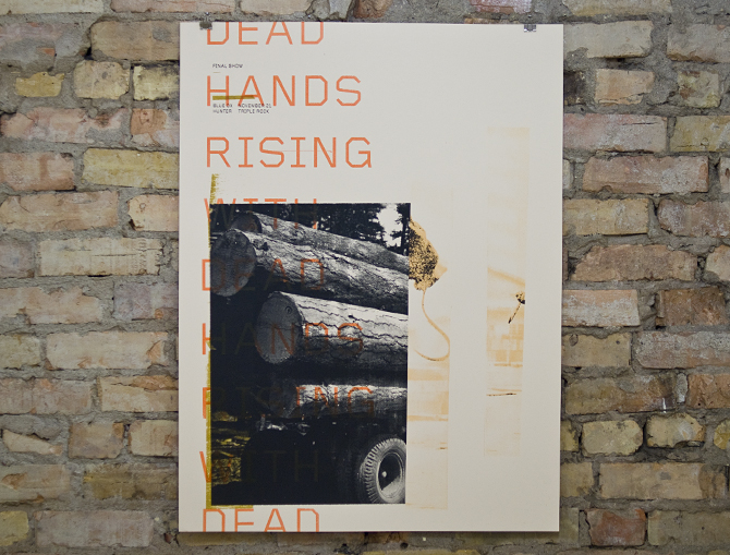 Steady Print Shop Co: With Dead Hands Rising
