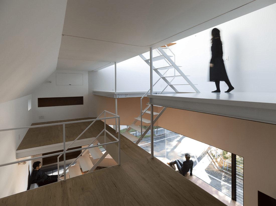 Suppose design office house in sakuragawa sgustok design for Office design japan