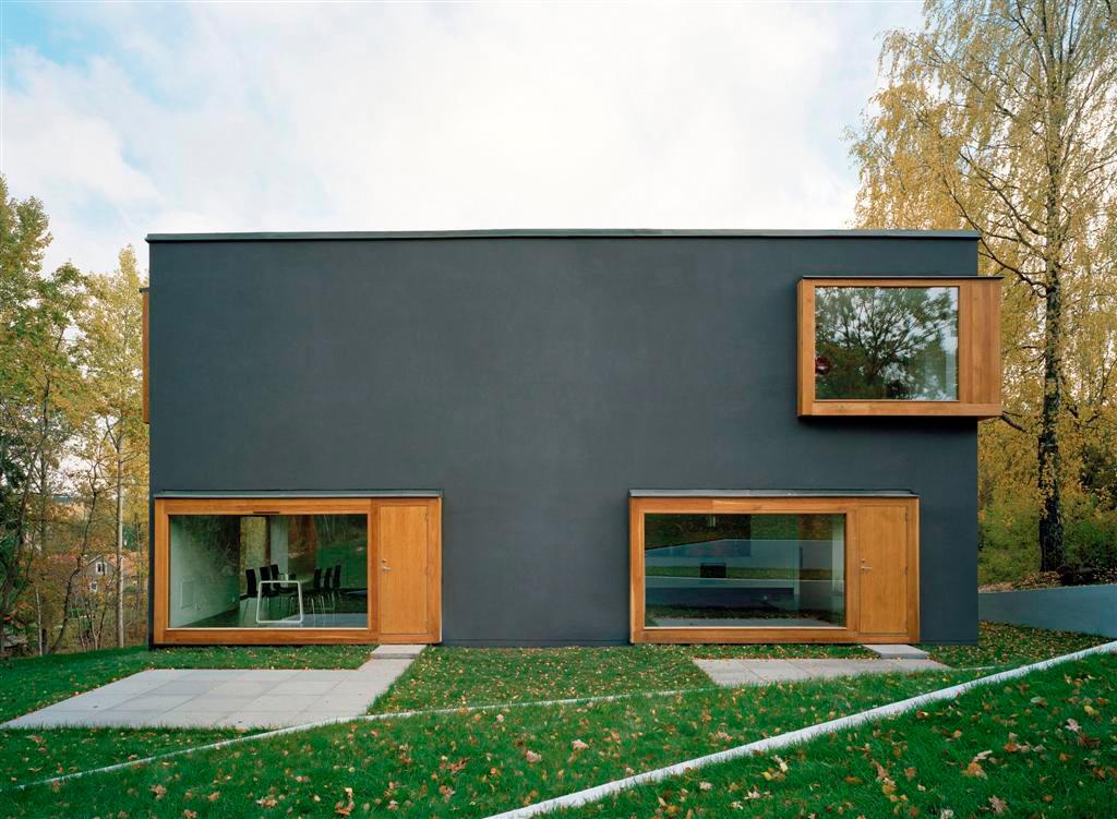 Этот дом на двух хозяев в Швеции построен в максимальных размерах