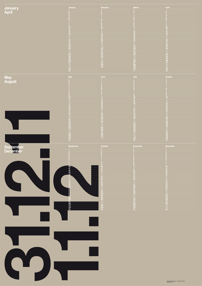 This Studio: This Year 2012 Calendar
