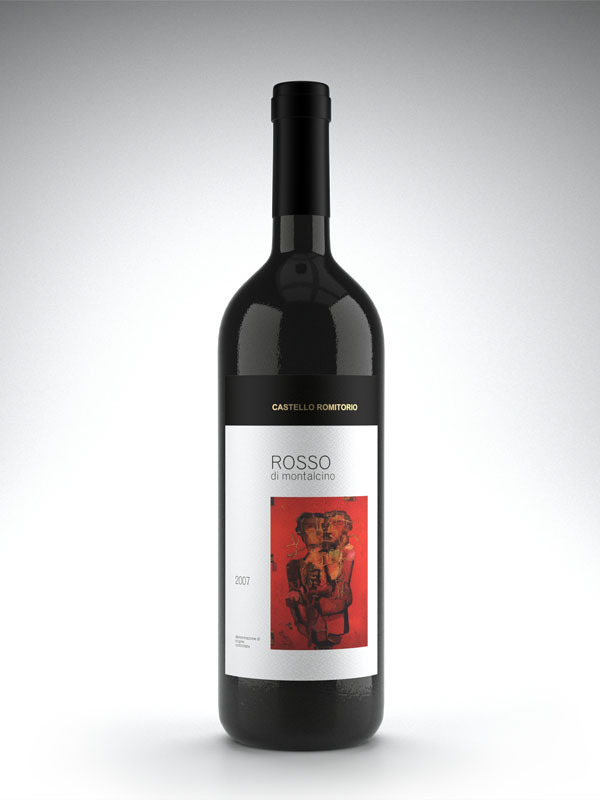 WeAreAllConnect: Castello Romitorio Wine Labels