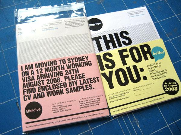 Effektive: Effektive Poster Mailer