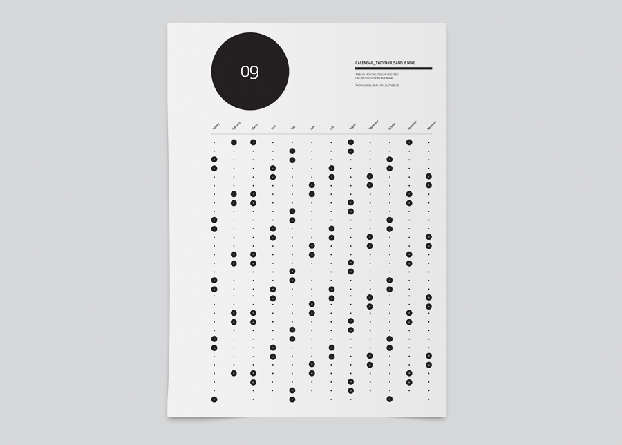 Thomas Williams: 09 Calendar, Work